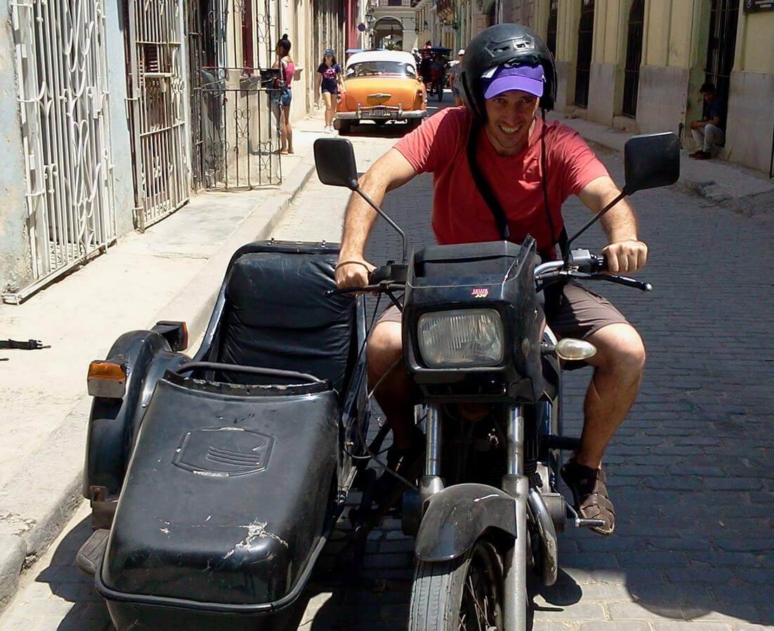 I move to Havana
