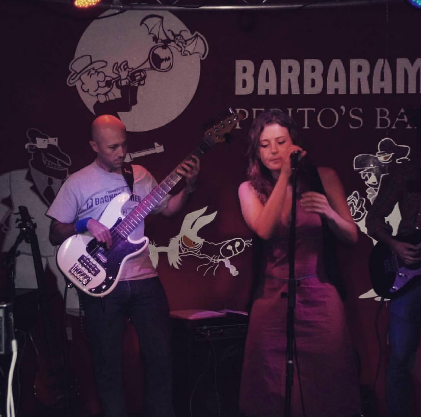 First concert in Barbaram Venue (Nuevo Vedado – Havana)